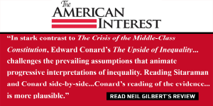 """The American Interest reviews """"The Upside of Inequality"""""""