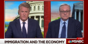 "Joe Scarborough and I debate President Trump's New Immigration Plan on MSNBC's ""Morning Joe"""